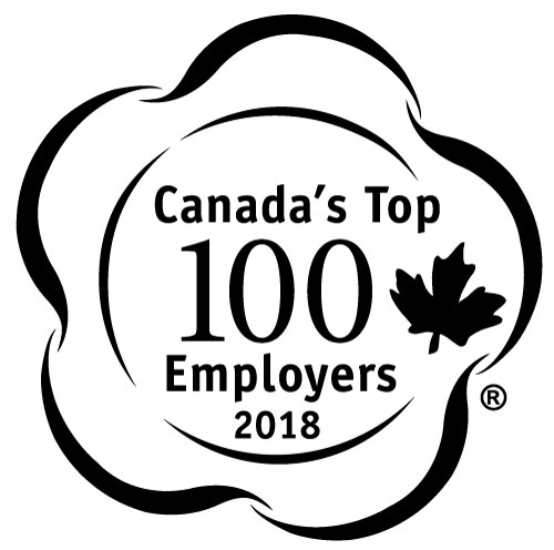 Canada's Top 100 logo for 2015