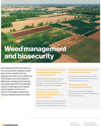 Weed Management and Biosecurity